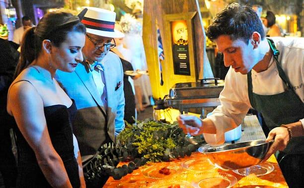 Lea Michele on Top Chef