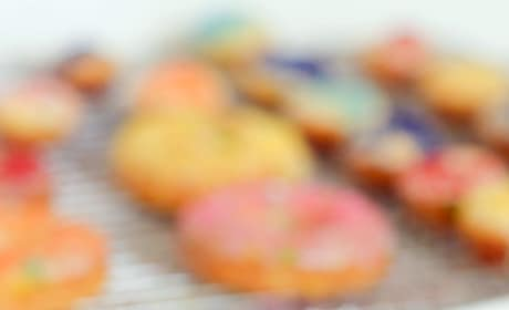 Gluten Free Funfetti Cake Donuts Pic
