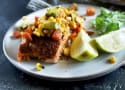 Grilled Salmon with Corn Avocado Salsa Recipe