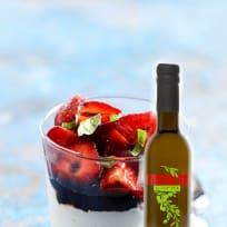 Strawberry Balsamic Ricotta Dessert