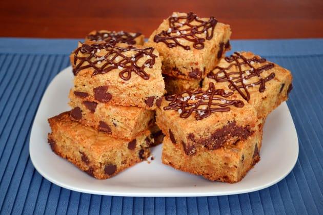 Chocolate Chip Cookie Bars Photo