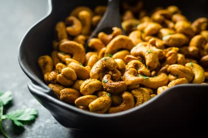 Thai Curry Cashews