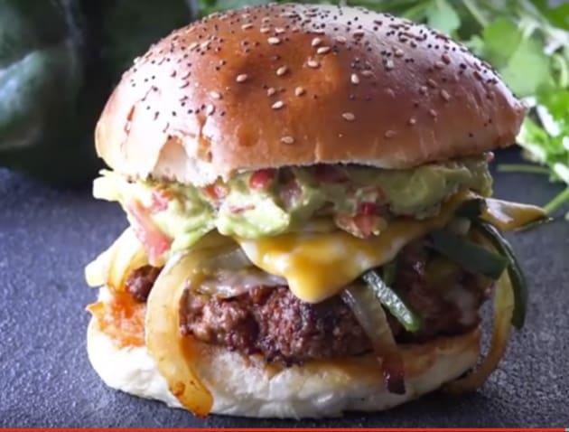 Queso Fundido Chorizo Hamburger