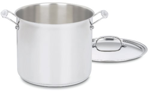 Chefs classic stainless steel cuisinart stockpot