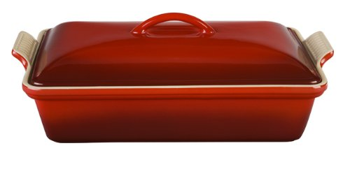 Le creuset heritage 4 quart covered casserole