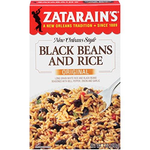 Zatarains black beans and rice rice dinner mix